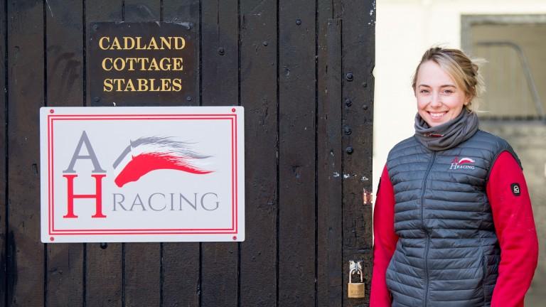 Alice Haynes: saddles Yuften at Wolverhampton on Monday