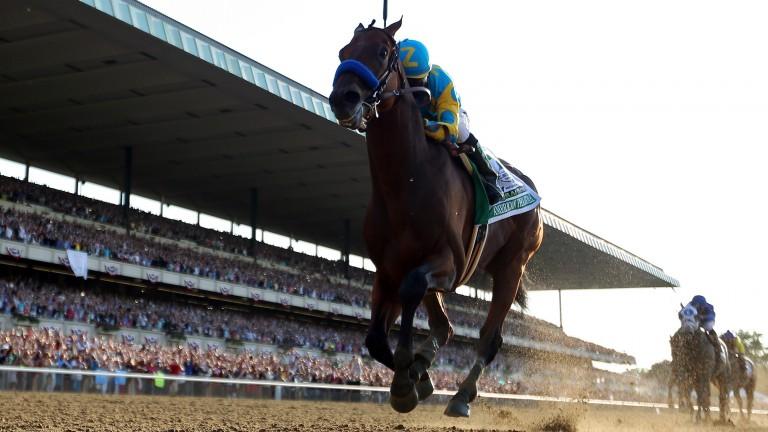American Pharoah: US Triple Crown hero wins the Belmont Stakes