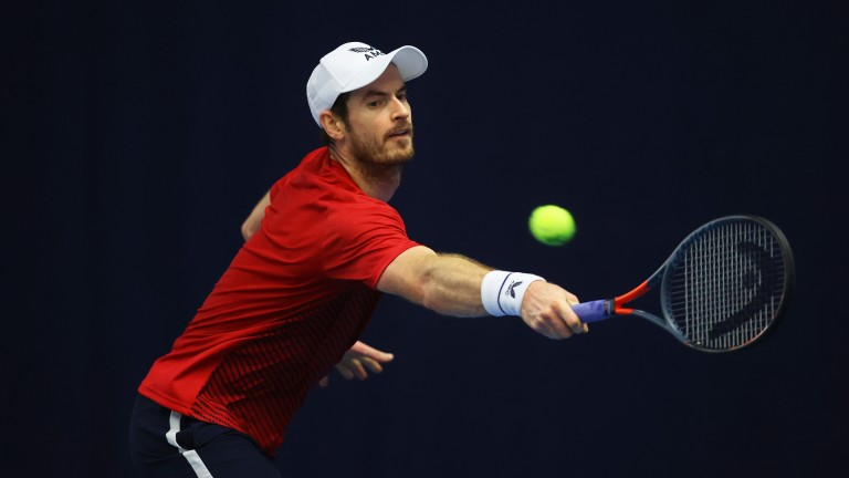 Andy Murray's game looked as good as it has been for years in a Biella Challenger Tour event recently