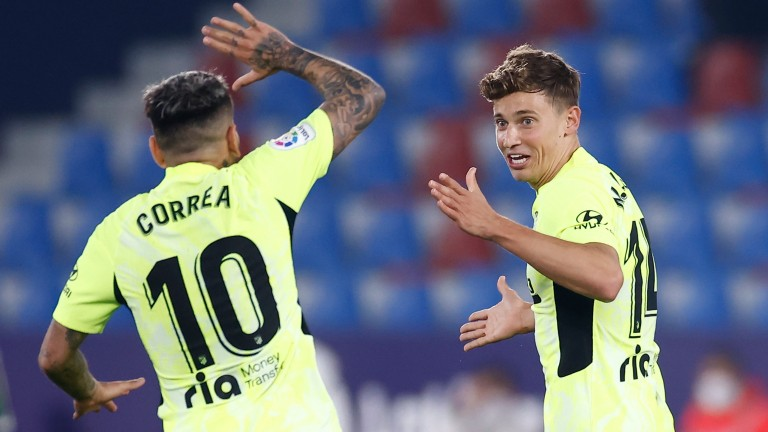 Angel Correa and Marcos Llorente are goal threats for Atletico Madrid