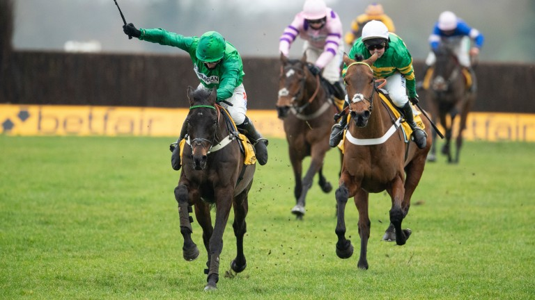 Sceau Royal (left) proves just too good for Champ in the Game Spirit Chase