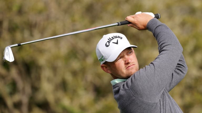 Tom Lewis finished 14th at Pebble Beach earlier this month