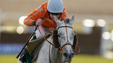 Paul's Saga and Brian Hughes were left toiling in second at Warwick last week on the French Champion Hurdler's first run since November