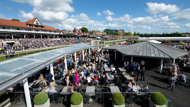 Chester's May meeting is normally held in front of large crowds