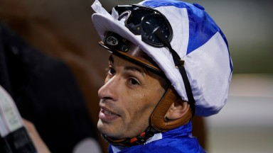 Silvestre De Sousa : aiming to back at Doncaster (Photo by Alan Crowhurst/Getty Images)
