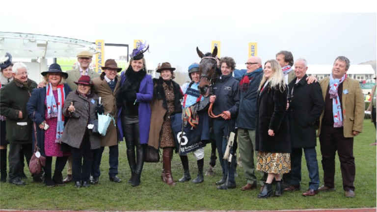 Simply The Betts provided a landmark moment for the Brooks family by winning at Cheltenham