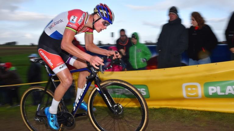 Mathieu van der Poel is in red-hot form