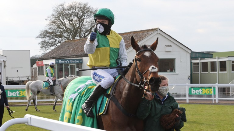 Cloth Cap: a stone well in for the Grand National after win at Kelso