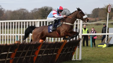 DARGIANNINI and Gavin Sheehan win at Sedgefield 7/3/21Photograph by Grossick Racing Photography 0771 046 1723