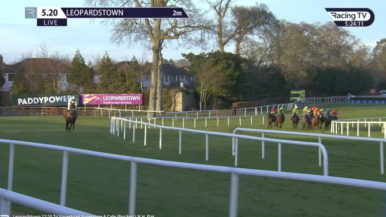 Lake Winnipesaukee (left): steps up in class after a mishap at Leopardstown