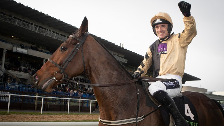 Bellshill: winner of the 2019 Irish Gold Cup under a delighted Ruby Walsh
