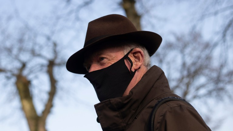 Willie Mullins: trainer had five winners at Punchestown on Tuesday