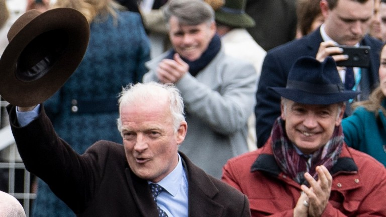 Willie Mullins: bagged another big prize at Listowel on Thursday