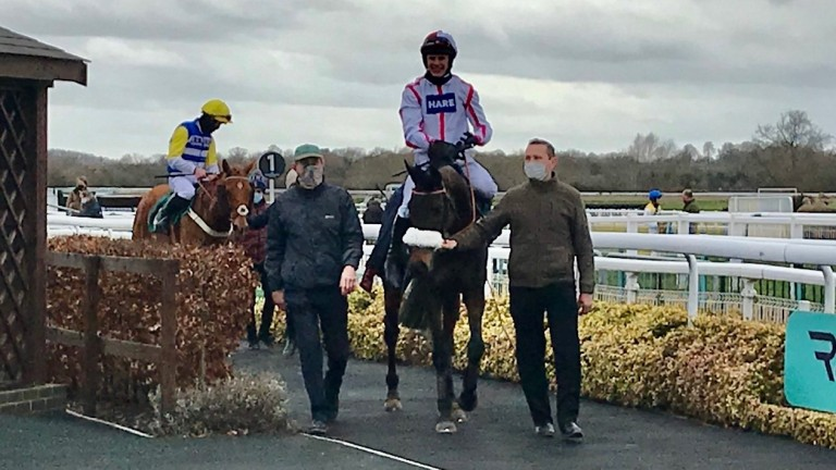 On To Victory and Tom Cannon return after winning the opener at Warwick