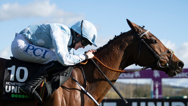 Honeysuckle and Rachael Blackmore record an easy victory in the Champion Hurdle