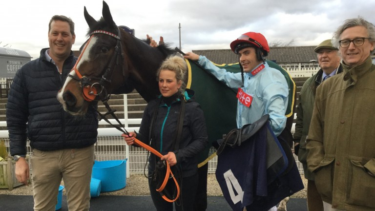 Charlie Longsdon and Glencassley: victorious again at Wetherby