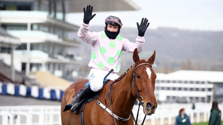 """Paul Townend on Monkfish: """"He wasn't foot-perfect today but he's got the job done"""""""
