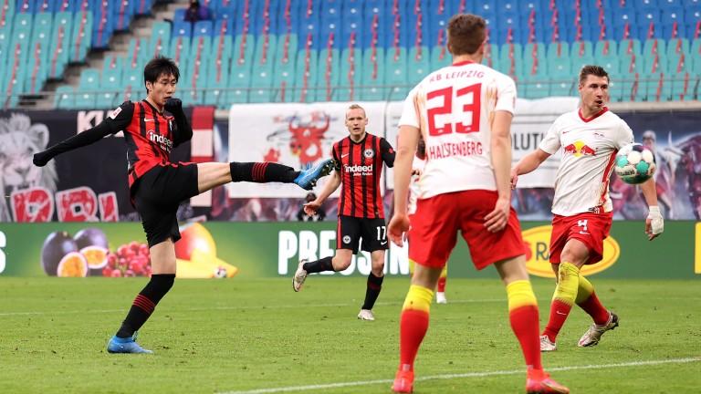 Daichi Kamada of Eintracht Frankfurt