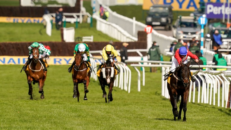 Allaho and Rachael Blackmore power home in the Ryanair Chase at Cheltenham