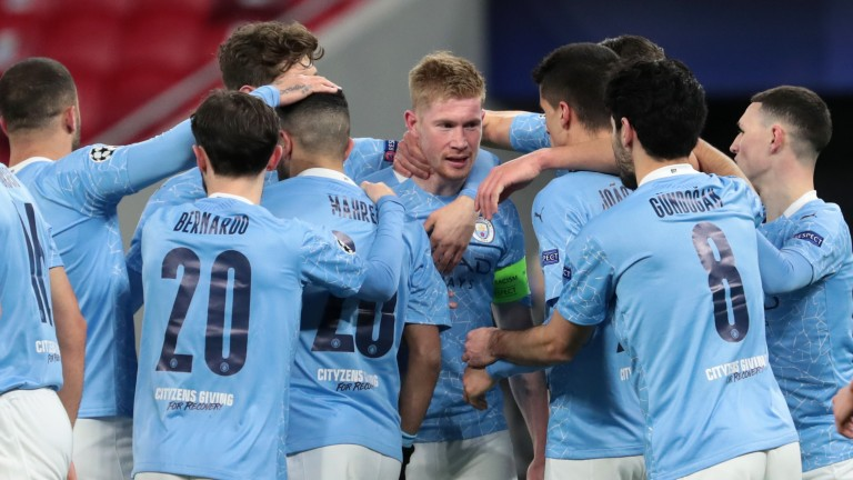 Manchester City are still in the hunt for four trophies this season