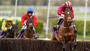 Jack Kennedy guides Minella Indo to a famous Gold Cup 1-2 for Henry de Bromhead from stablemate A Plus Tard