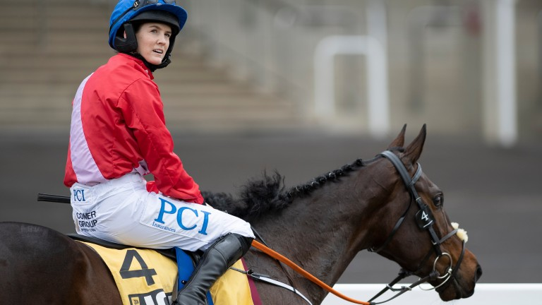 Rachael Blackmore: will ride Envoi Allen for the first time at Punchestown