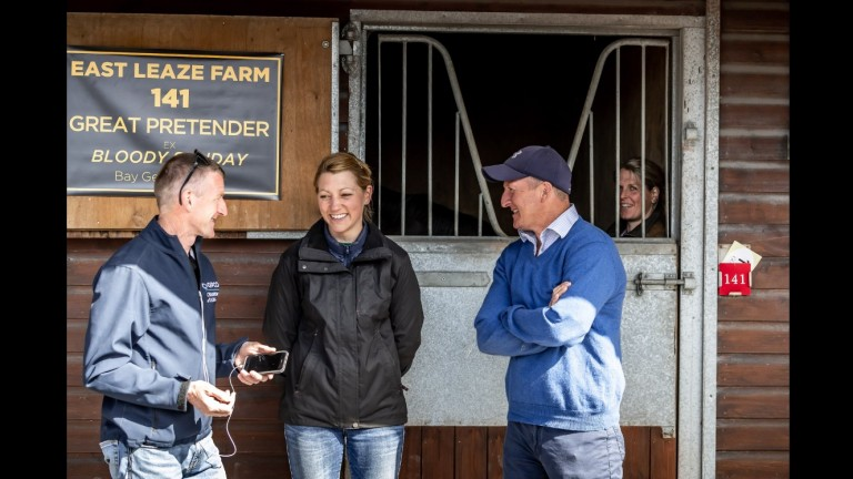 """Katie Rudd: """"Auctav is a sales company for every customer and horse wherever they are based."""""""