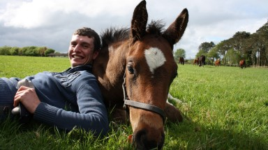 Jonathan Fitzpatrick during his time at the Irish National Stud