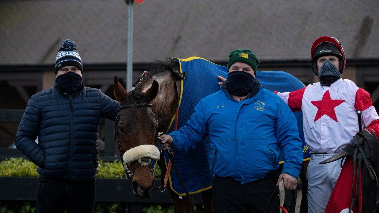 """Peter Fahey on The Big Dog: """"I'd like a little bit of rain, once the ground is safe he'll run"""""""