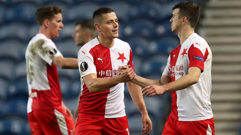 Slavia Prague saw off Rangers in the last round