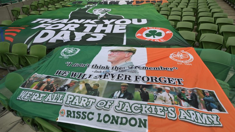 Tributes to Jack Charlton before Ireland's World Cup qualifier against Luxembourg
