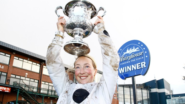 "Lorna Brooke: described as ""one in a million"" by trainer Evan Williams"
