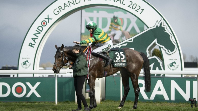 Saturday's Grand National was run with an overround of 146 per cent