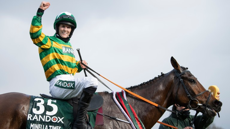 Minella Times's Grand National victory has elevated Rachael Blackmore to a new level