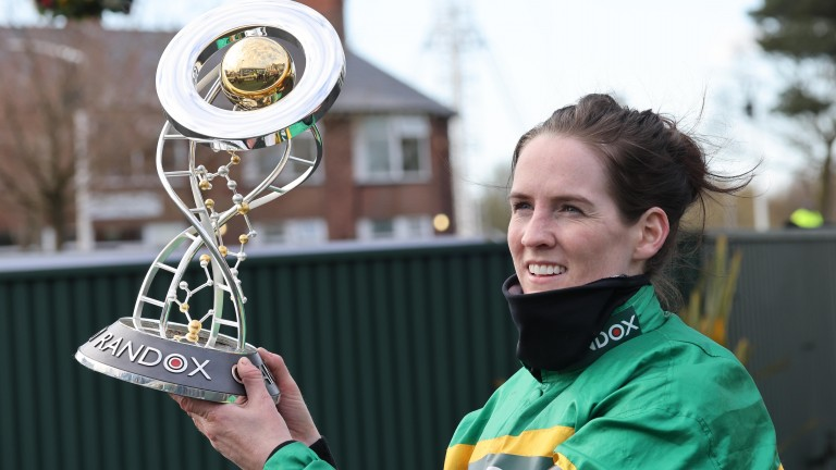 Rachael Blackmore made headlines with a historic Grand National win on Saturday
