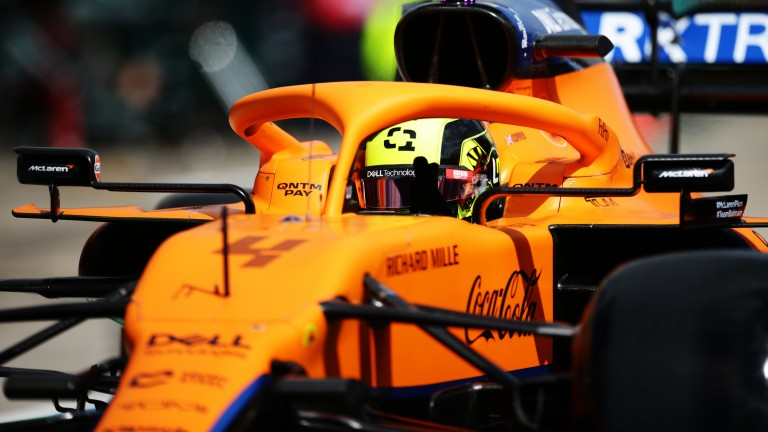 Lando Norris starred in qualifying but had his fastest lap time deleted