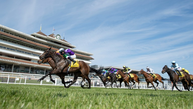 The Covid-19 pandemic has hit Newbury racecourse's finances