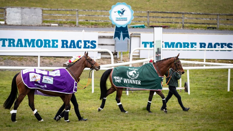 Stars of spring: Minella Indo and Minella Times parading at Tramore