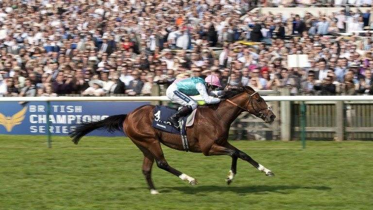 Frankel: Galileo's best son on Racing Post Ratings