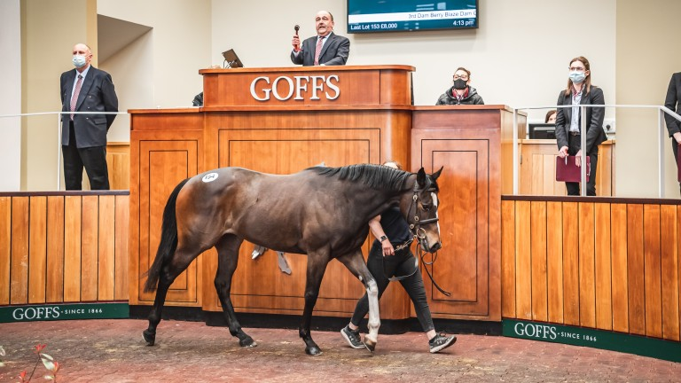 The Kodiac filly who had clocked the fastest time at Tuesday's breeze