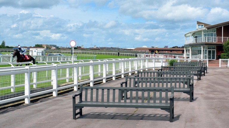 The last 13 fixtures at Redcar have been held behind closed doors