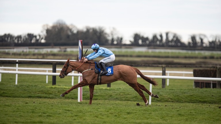 O'Toole: impressed when winning on debut at Fairyhouse in February