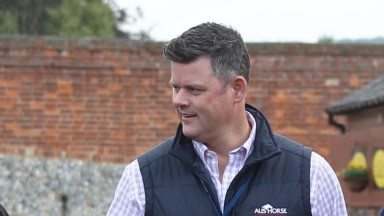 Byron Rogers on the ground at Tattersalls