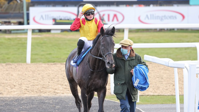 Hollie Doyle was in the saddle as John Leeper got off the mark at Newcastle