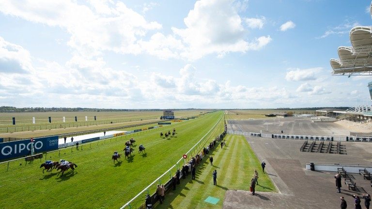 Maggie Carver warned the effects of the pandemic would affect racecourses' ability to invest