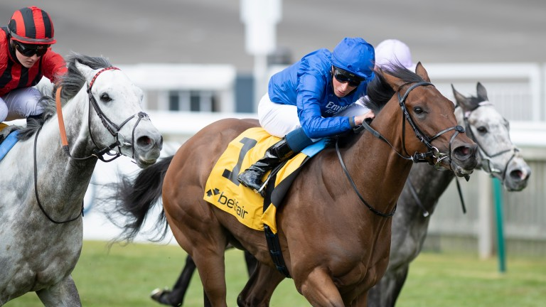 Came From The Dark (near): was a fast-finishing second to Lazuli in the Palace House Stakes at Newmarket