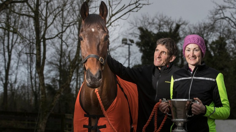 Enniskillen: appeared at ten consecutive Punchestown festivals for trainer Peter Maher