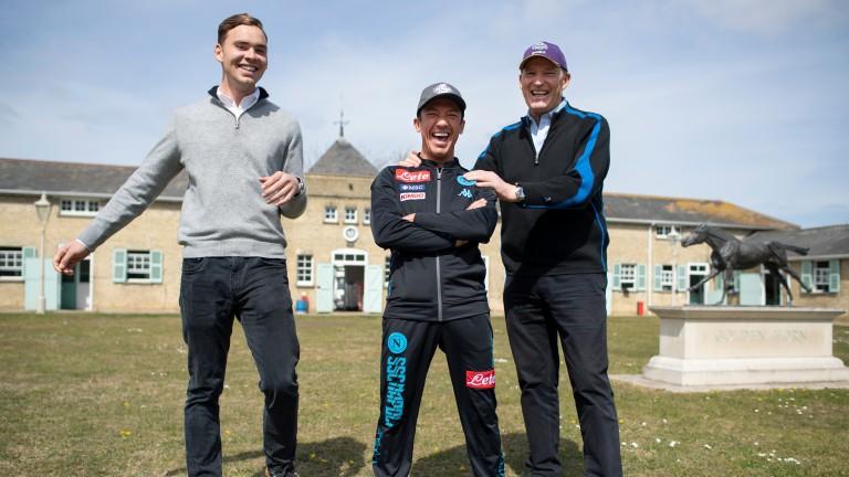 John Gosden, Thady Gosden and Frankie Dettori team up with Gloria Mundi at Royal Ascot