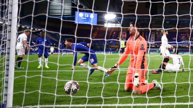 Mason Mount's goal made certain of Chelsea's progress to the Champions League final
