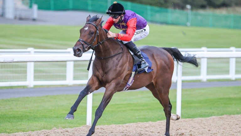 Light Refrain: picked up her first win since Newcastle in the Kilvington Stakes